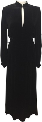 Raquel Diniz Black Silk Dress for Women