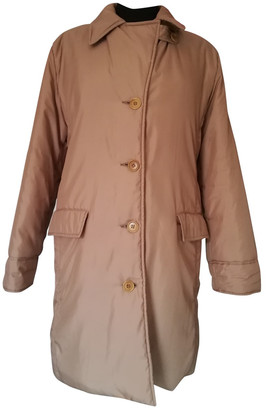 Max & Co. Beige Synthetic Coats