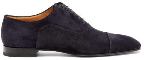 7e7ae580758 Greggo Suede Derby Shoes - Mens - Navy