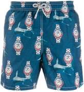 Mc2 Saint Barth Shark swim shorts