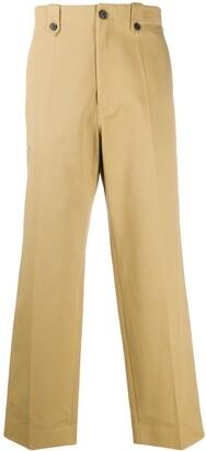 Loewe Wide-Leg Chino Trousers