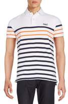 Superdry Striped Cotton Polo