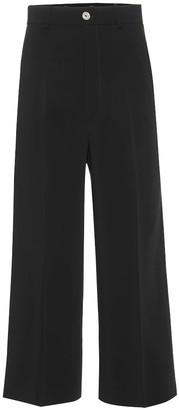 Gucci Stretch crepe wide-leg pants