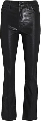 J Brand Alma Cropped Straight-Leg Jeans