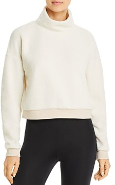 Beyond Yoga All Time Fleece Cropped Sweatshirt