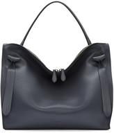 Jil Sander Grey Medium Hill Bag
