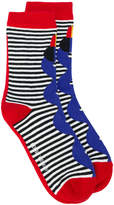 Henrik Vibskov Memphis Toucan socks