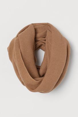 H&M Knit Tube Scarf - Beige