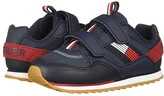 Tommy Hilfiger Jax Jogger Alt (Toddler) (Navy Ballistic Nylon/Tumbled) Kid's Shoes
