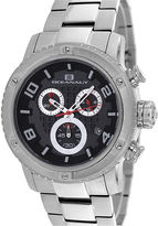 Oceanaut Mens Impulse Black Chronograph Watch