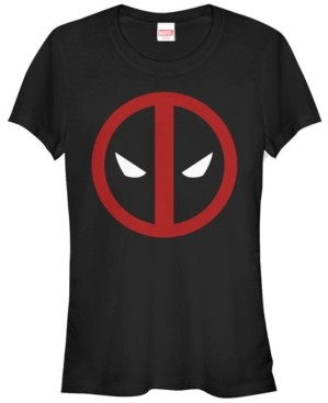 Fifth Sun Marvel Women's Dead Pool Mask Classic Short Sleeve Tee Shirt
