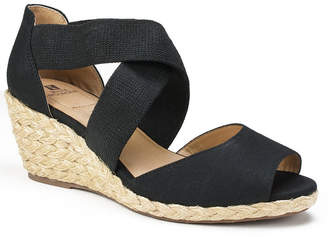 White Mountain Hudlin Espadrille Wedge Sandals Women Shoes
