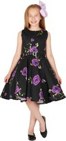 Black Butterfly Clothing Black Butterfly Kids 'Audrey' Vintage Infinity 50's Dress (, 7-8 YRS)