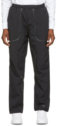A-Cold-Wall* Black Overlay Track Pants