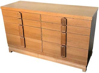 One Kings Lane Vintage Midcentury Mahogany Dresser - Eat Drink Home