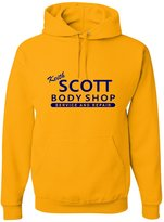 Go All Out Screenprinting Adult Keith Scott Body Shop Service And Repair Sweatshirt Hoodie