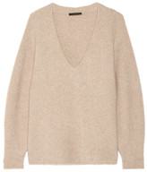 The Row Babbie Oversized Cashmere-blend Sweater - Beige
