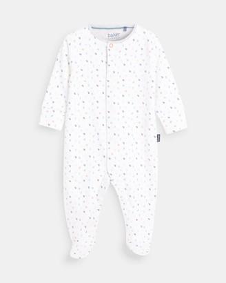 Ted Baker Printed Sleepsuit And Bib Set