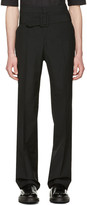 Yang Li Black Belted Trousers