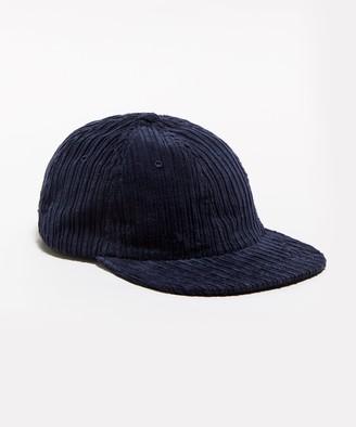 Todd Snyder Variegated Corduroy Hat in Navy