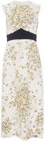 Giambattista Valli Daisy Embroidered Cady Dress