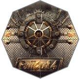 Custom Umbrella Fallout 4 Vault Custom Foldable Rain Umbrella Wind Resistant Windproof Floding Travel Umbrella