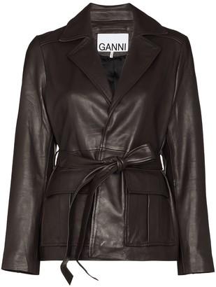 Ganni Wrap Blazer Jacket