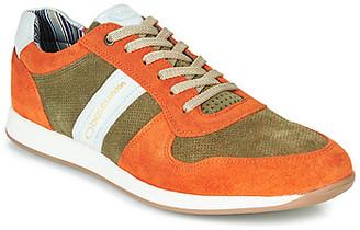 Base London ECLIPSE men's Shoes (Trainers) in Orange