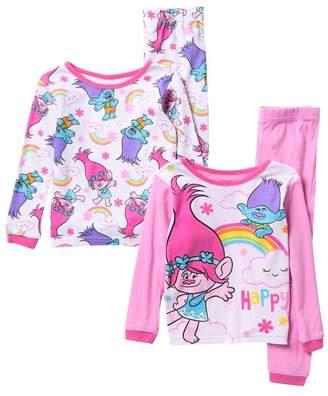 AME Trolls Pajamas - Set of 2 (Little Girls & Big Girls)