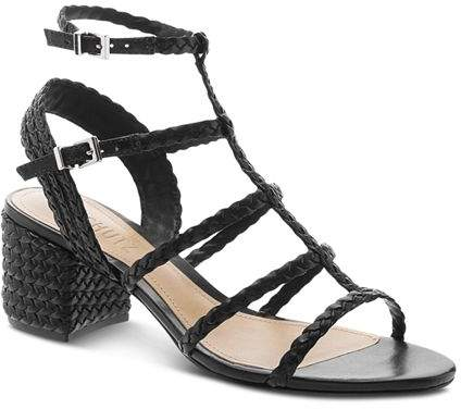 f869a4e971 Schutz Black Block Heel Women's Sandals - ShopStyle