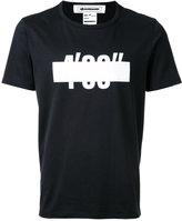 Anrealage 4'33'' T-shirt - men - Cotton - 46