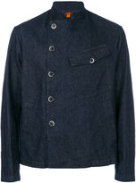 Barena dislocated fastening denim jacket - men - Cotton - 50