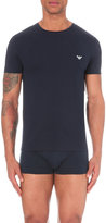 Emporio Armani Regular-fit Cotton-jersey T-shirt