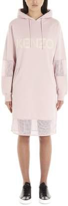 Kenzo Logo Hooded Dress