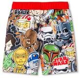 Star Wars Toddler Boys' Swim Trunk - Multi Colored