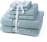 Apt. 9 Highly Absorbent 6-pc. Solid Bath Towel Value Pack