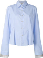 Aviu layered sleeves shirt - women - Cotton/Polyester/Viscose - 44