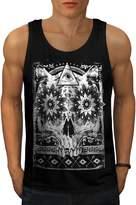 Secret Society Group Skull Beast Men XL Tank Top | Wellcoda