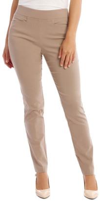 Regatta Essential Slim Full-Length Pant In Stone