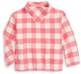 Vineyard Vines Girl's Buffalo Check Sweatshirt