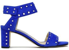 Jimmy Choo Veto 65 Studded Suede Sandals
