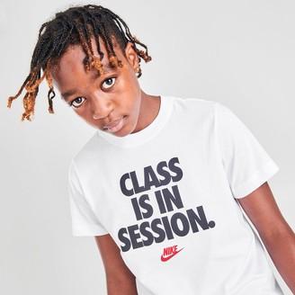 Nike Kids' Sportswear Class Is In Session T-Shirt