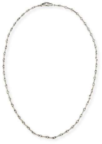 "David Yurman Men's Sterling Silver Continuance Cable Necklace, 21.8""L"