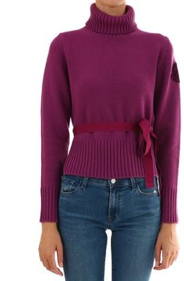 Moncler Turtleneck Logo Sweater