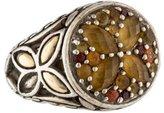 John Hardy Batu Kawung Citrine & Garnet Sunset Ring