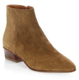 Aquatalia Fire Leather Ankle Boots