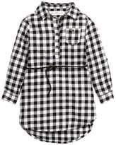 H&M Shirt Dress - Black/white/checked - Kids