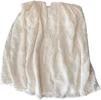 Style Stalker White Dress for Women