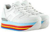 Hogan Nappa Platform Sneakers