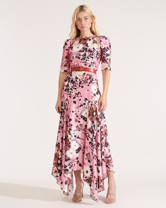 Veronica Beard Connie Mod-Floral Dress